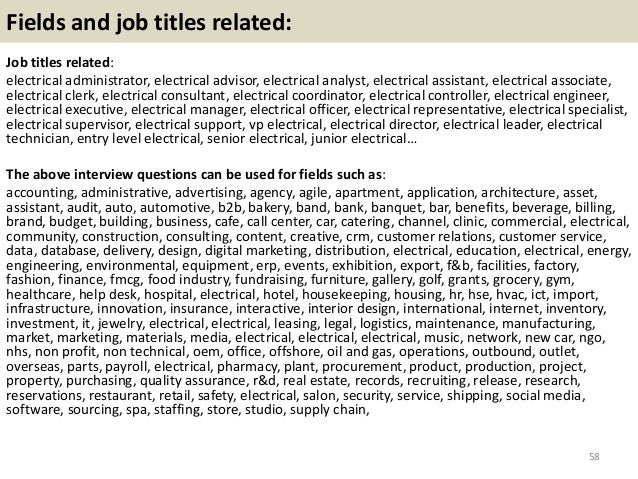 electrical engineering interview questions and answers ebook