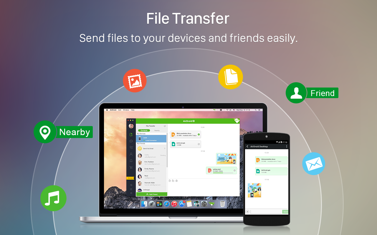 how to transfer epub file to android phone