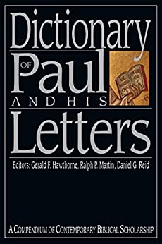 dictionary of paul and his letters ebook