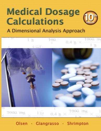 calculations of drug dosage 10th edition ebook free