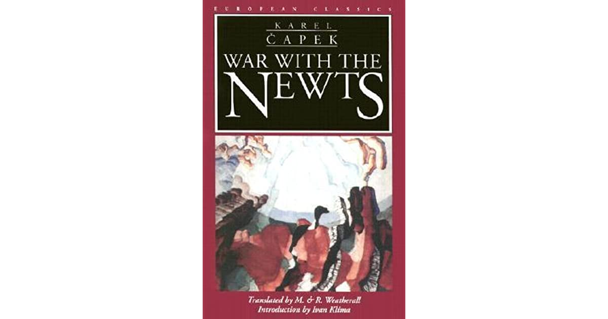 war with the newts epub